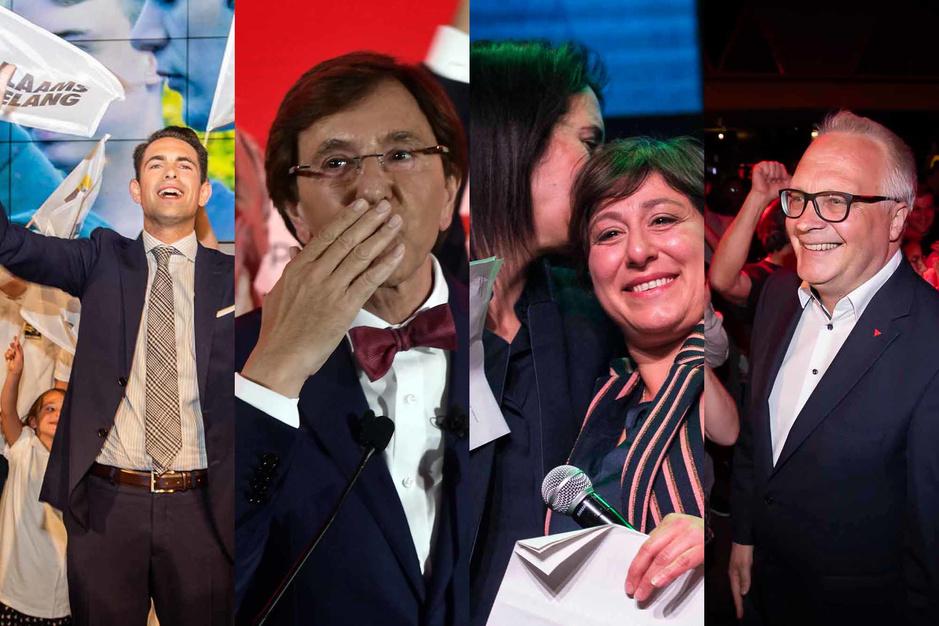 Revivez la soirée électorale en images
