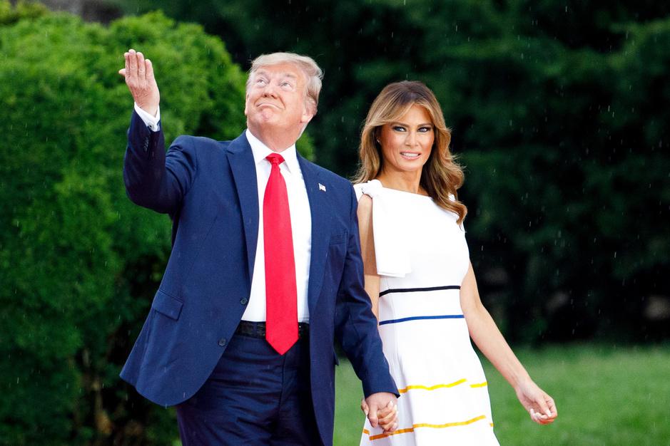 Nieuwe biografie Trump: 'Donald en Melania hebben eigenlijk een zeer goede relatie'