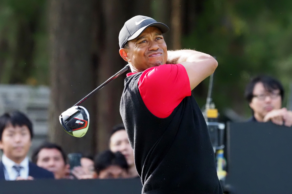Tiger Woods droomt van Olympische Spelen