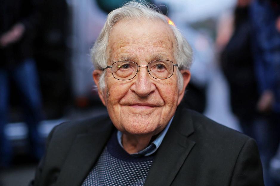 Noam Chomsky: 'Onder het neoliberale regime zullen we zeker uitsterven'