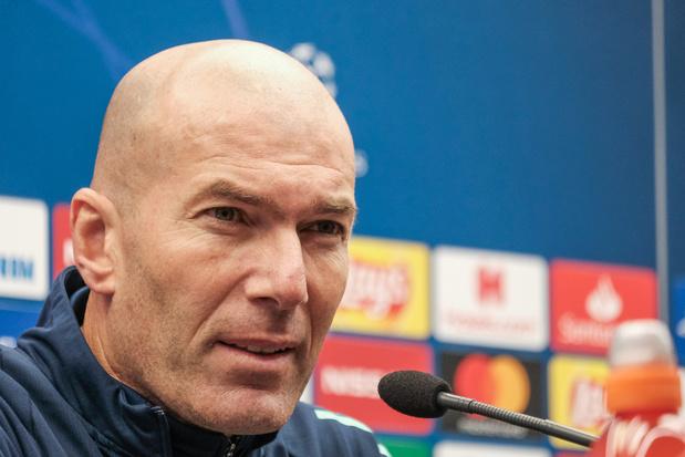 """Zidane: """"Le clasico? Un simple match de football"""""""