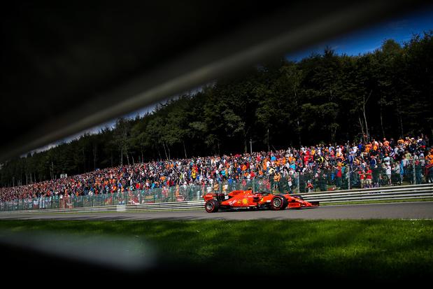 Le GP de Spa-Francorchamps reste dans l'attente