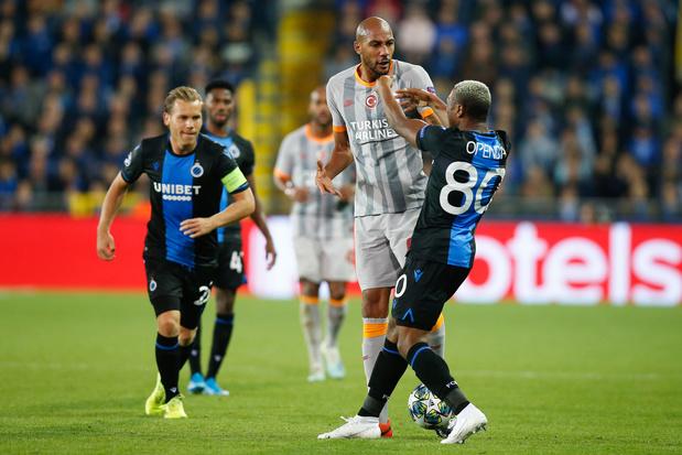 Face à Galatasaray, Bruges peut avoir beaucoup de regrets