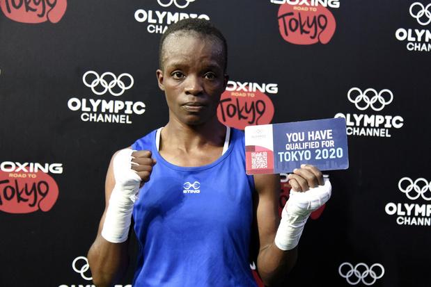 Keniaanse tienermoeder bokst op Olympische Spelen