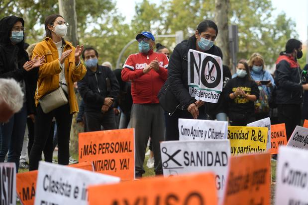 La région de Madrid décrétée en état d'urgence sanitaire