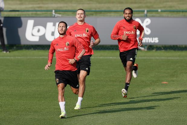 Eden Hazard continuera avec les Diables rouges au moins jusqu'au Qatar