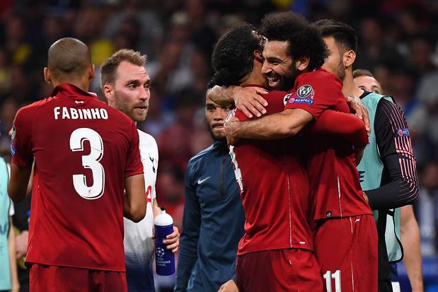 Liverpool wint Champions League met 2-0 overwinning op Tottenham