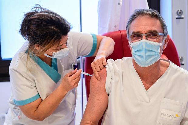 Zes op tien ziekenhuismedewerkers tweede maal ingeënt