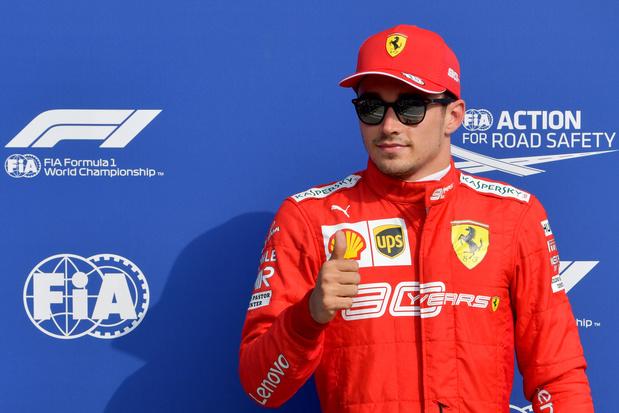 GP de F1 d'Italie: Leclerc en pole après des qualifications surréalistes