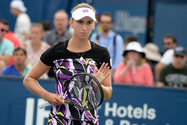 US Open: Elise Mertens efface aisément le premier obstacle