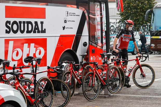Soudal stopt na volgend seizoen met sponsoring wielerploeg Lotto-Soudal