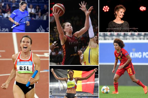 Poll: op zoek naar de meest invloedrijke Belgische sportvrouw