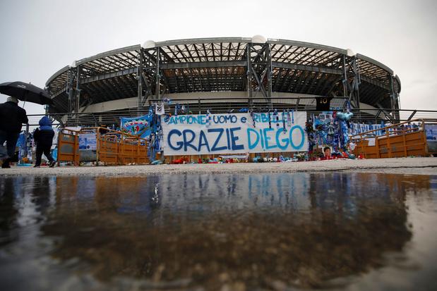 Napoli speelt voortaan in het Diego Armando Maradona-stadion
