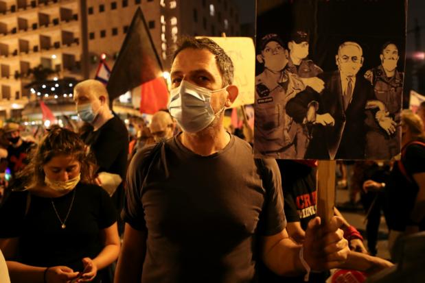 Tienduizenden mensen protesteren tegen Netanyahu in Israël