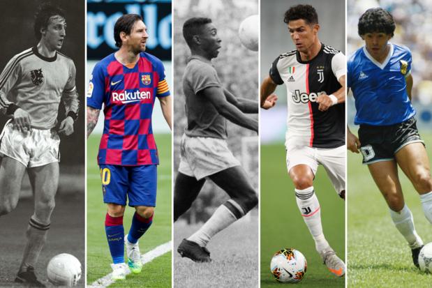 Poll: wie is de grootste voetballer aller tijden?