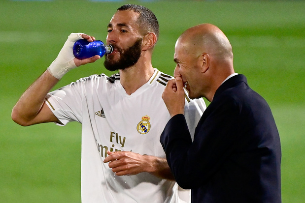 "Zidane: ""Benzema ferme un peu des bouches"""