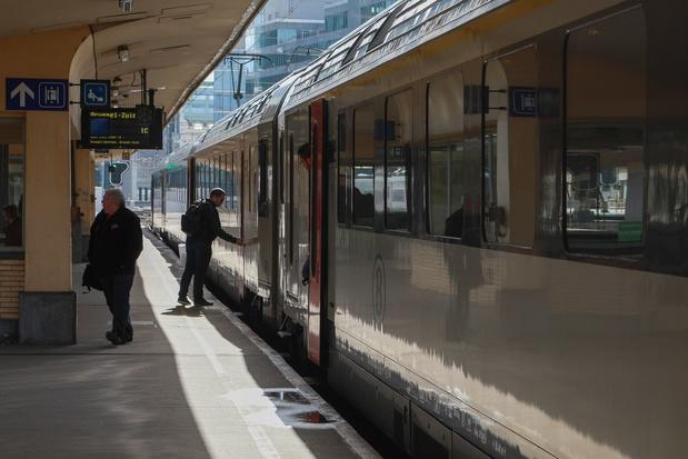 Toutes les voies entre Bruxelles-Nord et Midi rendues aux trains