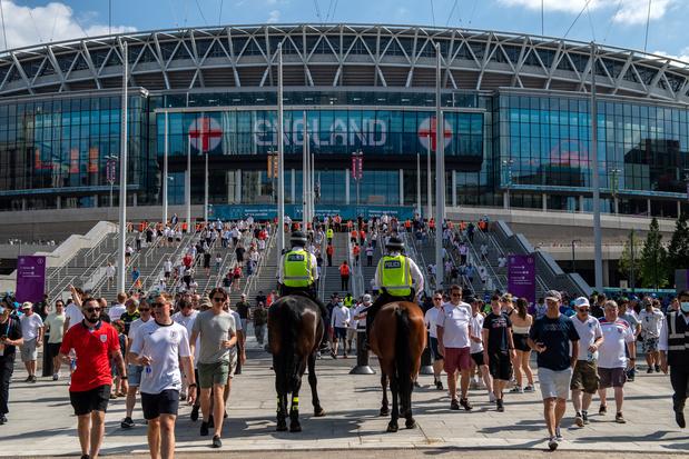 'Finale EK gaat gewoon door in Londen, geen plannen om te veranderen'