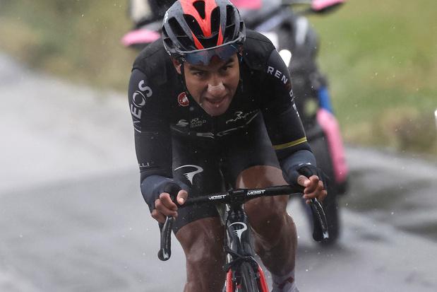 Ecuadoriaan Narvaez soleert naar ritwinst in twaalde etappe Giro