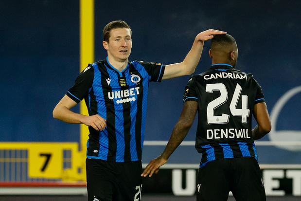 Club Brugge recupereert Vanaken, Lang, Denswil en Mitrovic op training