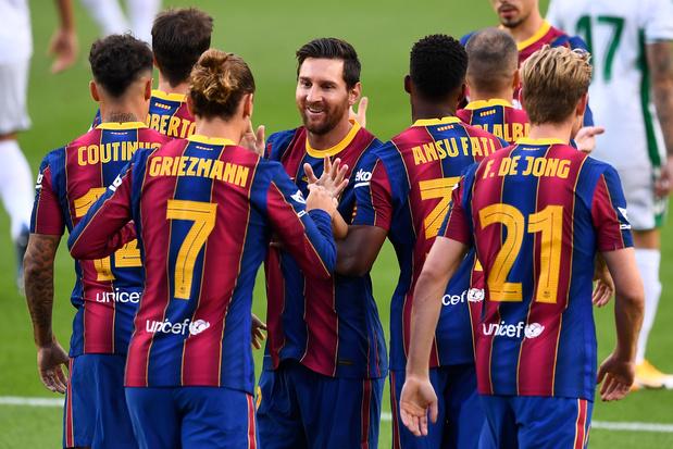 """Barça: """"C'est positif que Messi appelle à l'unité"""", se réjouit Koeman"""