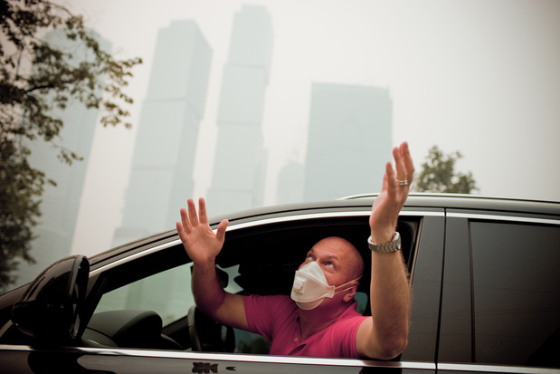La pollution atmosphérique pourrait causer la calvitie