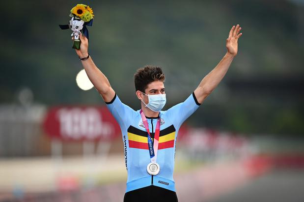 """Sentiments contrastés pour van Aert après l'argent: """"J'avais les jambes pour gagner"""""""