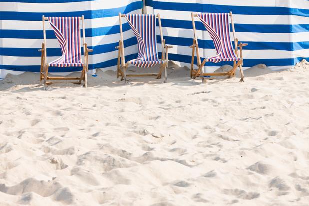 Blankenberge start met reservatiesysteem voor strandstoelen
