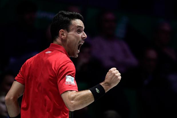 Finale de la Coupe Davis: l'Espagne mène 1-0 face au Canada