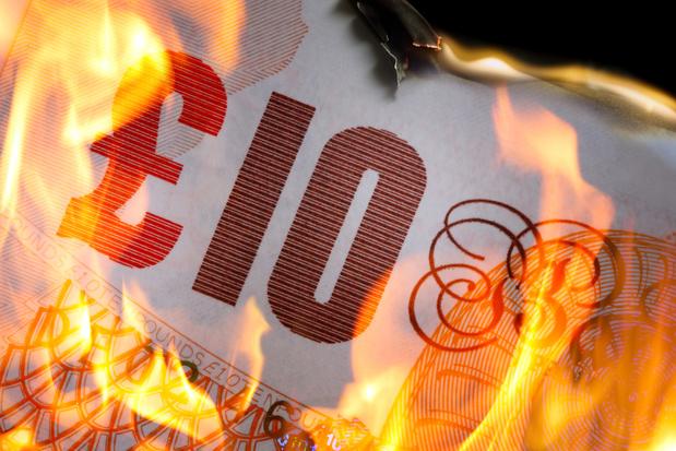 La livre sterling brûle les doigts des investisseurs...