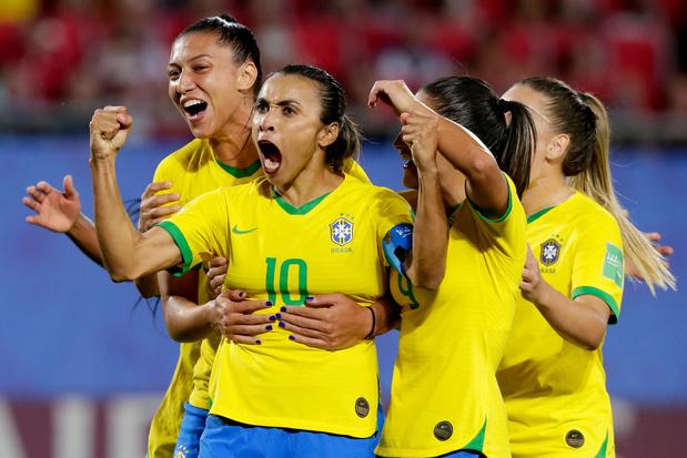 Braziliaanse vrouwen verdienen voortaan evenveel bij nationaal team als Neymar en co