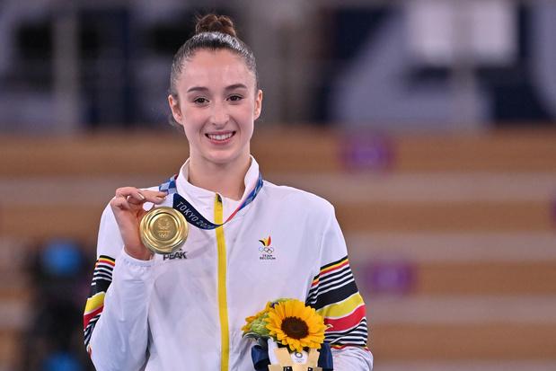 Nina Derwael, de l'Or en barres