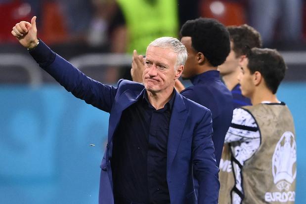 """EURO 2021 - Didier Deschamps: """"Si on s'arrête, c'est qu'on ne méritait pas plus"""""""