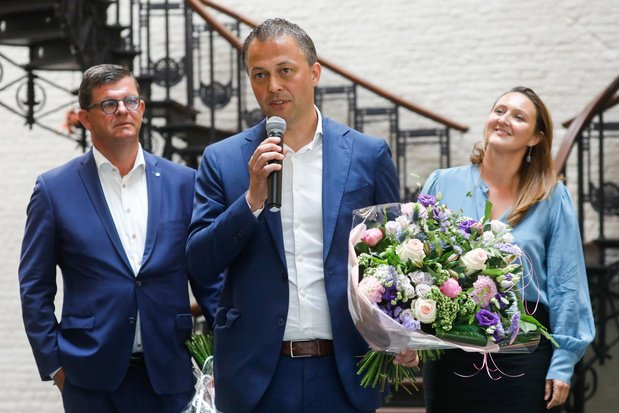 Egbert Lachaert est le nouveau président de l'Open Vld