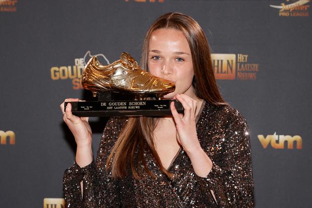 Vijf zaken die je moet weten over Gouden Schoen Tine De Caigny