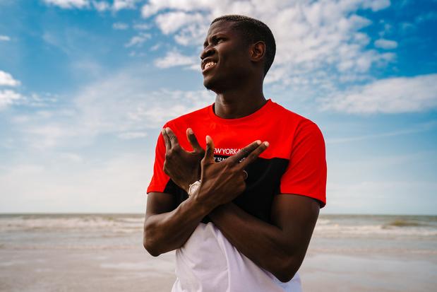 Makhtar Gueye (KV Oostende): 'Soms geeft het eens vonken tussen mij en Blessin'
