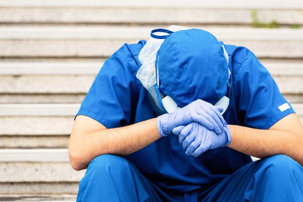 """Un infirmier liégeois: """"Dans 2 semaines, c'est Bagdad à l'hôpital"""""""