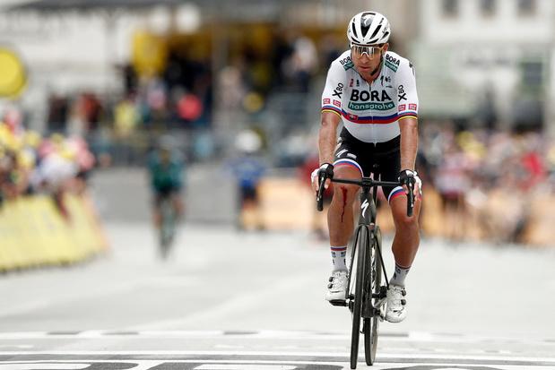 """Sagan na opgave door kniepijn: """"Ik hoop de Spelen te halen"""""""