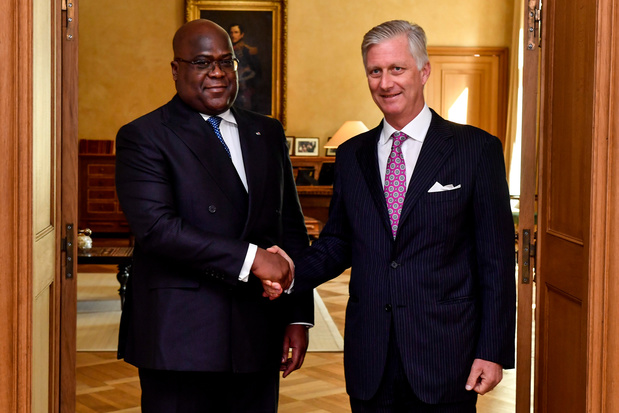 Tshisekedi appelle Belges et Congolais à écrire ensemble l'histoire de la colonisation