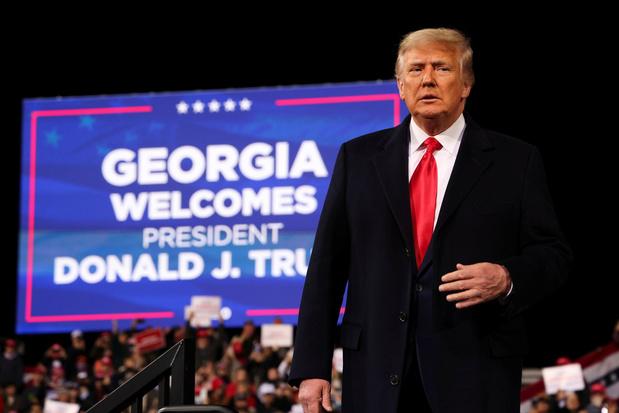 Trump fait pression sur le gouverneur de Géorgie