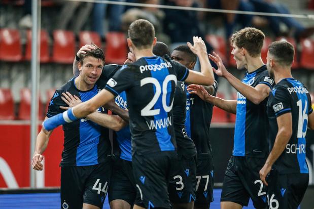 Club Brugge gaat de kloof uitdiepen