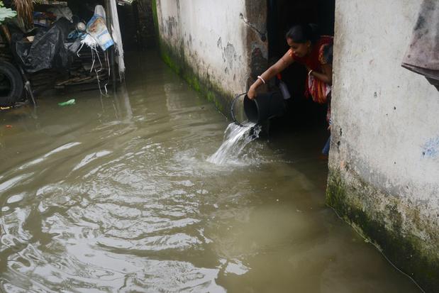 Près de 870.000 touchées par les inondations en Inde