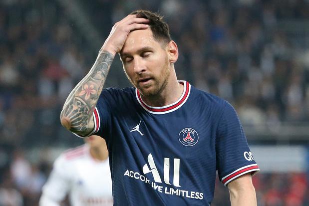 Knie houdt Messi (PSG) ook tegen Montpellier aan de kant