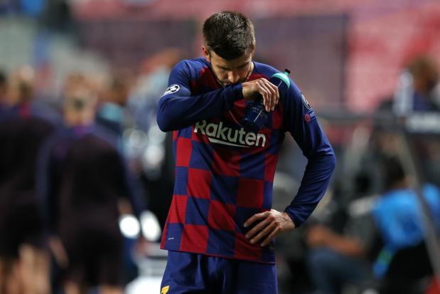 Gerard Pique: 'Barcelona zit op de bodem, club heeft nood aan verandering'