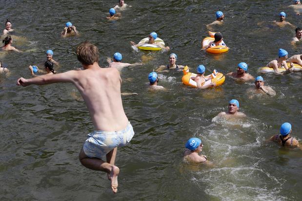 """""""Big Jump"""" dimanche pour sensibiliser à des rivières plus propres"""