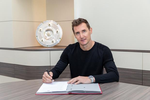 Miroslav Klose devient adjoint au Bayern