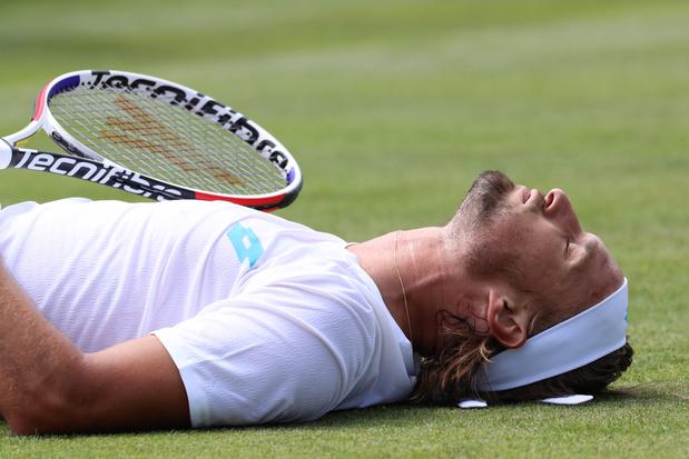 Ruben Bemelmans impuissant face à Wawrinka à Wimbledon