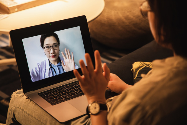 Patiënten tevreden over teleconsult maar fysiek consult geniet meestal de voorkeur