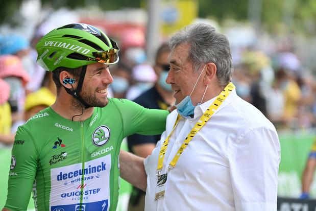 Merckx looft Pogacar en Cavendish: 'Ik hoop dat Mark zijn 35ste zege pakt'