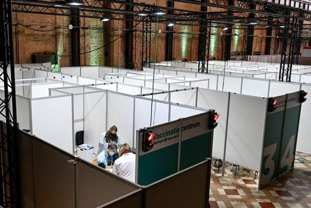 128 miljoen euro voor Vlaamse vaccinatiecentra